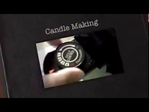 DIY Candle Making eco friendly