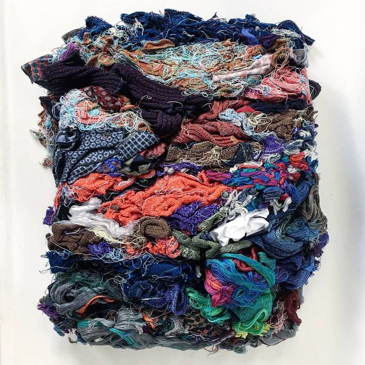 """Friday cleaning. This textile """"compost"""" is for recycling 