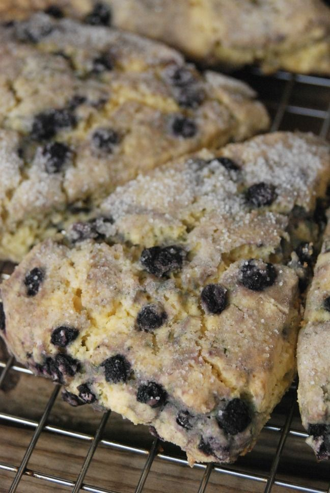Gluten-free Blueberry Scones | The Frugal Farm Wife