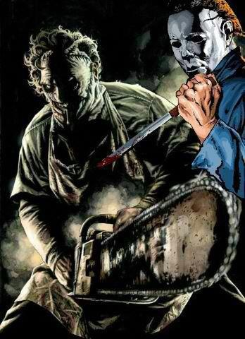 Leatherface/Michael Myers art