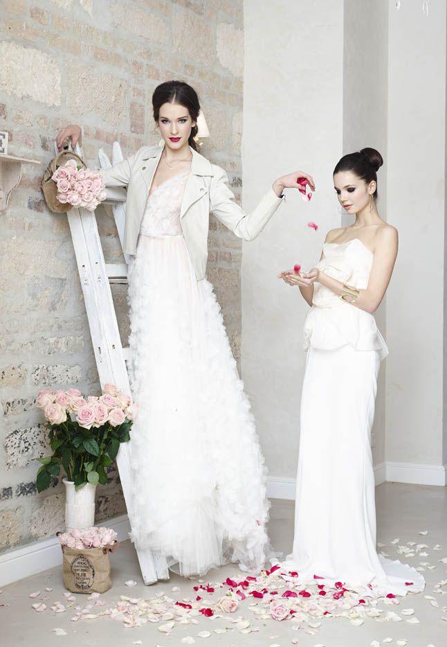 Petal gown by Daalarna