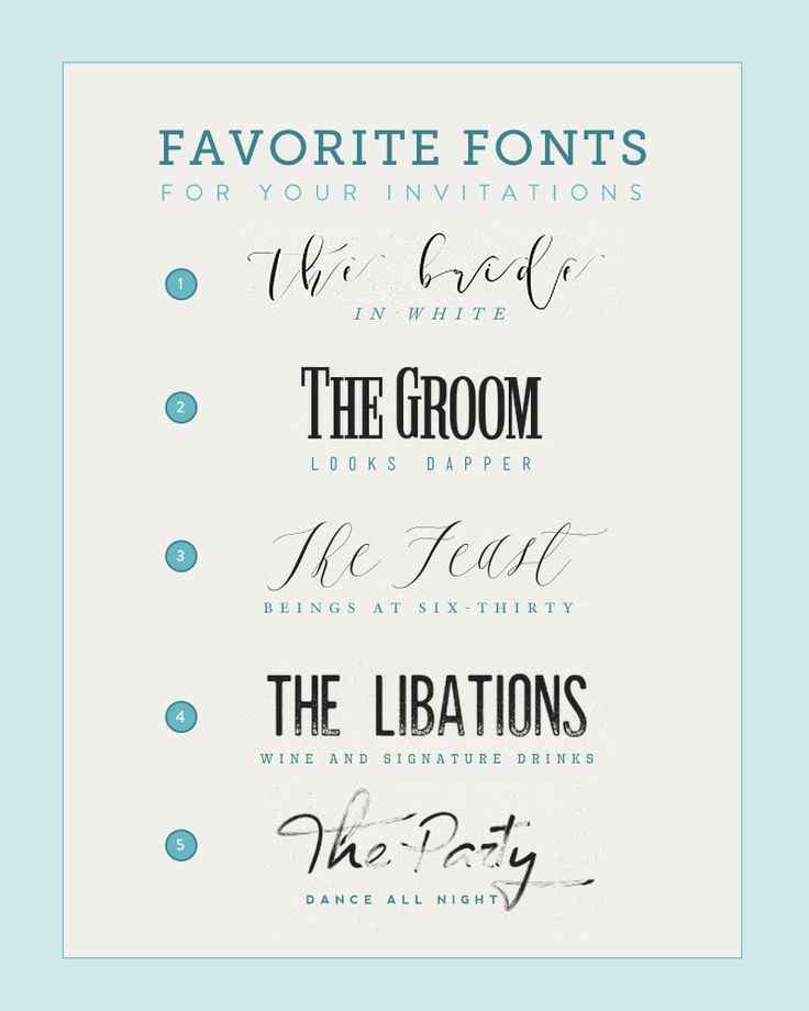Fonts For Wedding Invites: 11 Best Fonts And Font Pairings Images On Pinterest