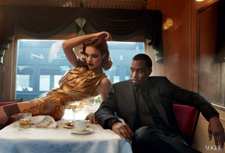 "vogue:  "" From the Archives: Super Bowl Halftime Performers in Vogue  Diddy, photographed by Annie Leibovitz  See the slideshow  """