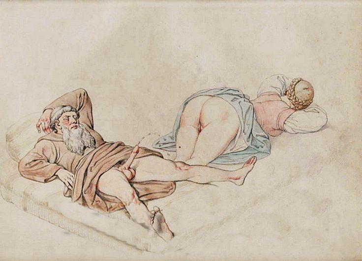 Erotica period art drawings — 3
