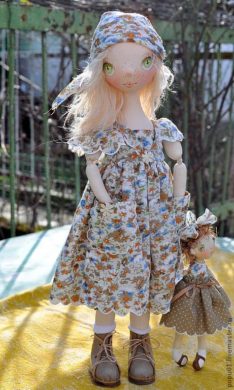 Коллекционные куклы ручной работы. Ярмарка Мастеров - ручная работа Коллекционная кукла Тролька. Handmade.