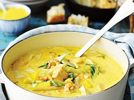Fisksoppa med saffran och aioli