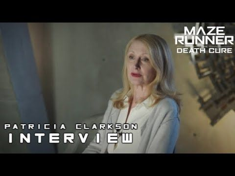 "Maze Runner: The Death Cure - Patricia Clarkson ""Ava Paige"" Interview - YouTube"