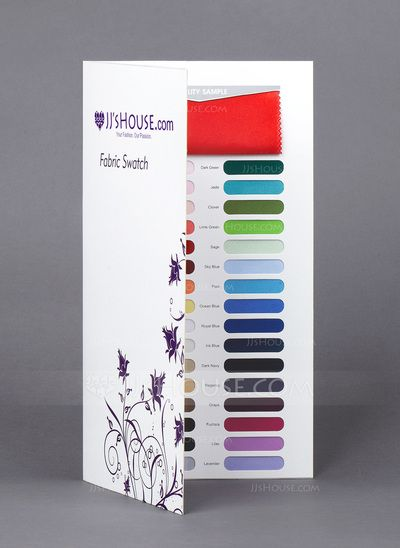 Swatch - $5.99 - [Free Shipping] Fabric Swatch - Single Fabric in 32 Colors (033040988) http://jjshouse.com/Free-Shipping-Fabric-Swatch-Single-Fabric-In-32-Colors-033040988-g40988