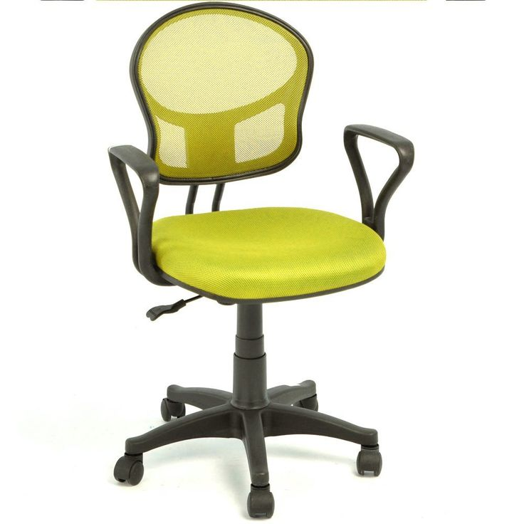 fabric computer chair uk. arc mid-back ergonomic mesh fabric task computer chair with arm height adjustment office conference green uk h