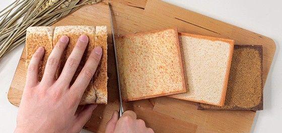 """Tasarımı ile gerçek bir ekmek dilimini anımsatan """"bRead"""" 12x12 cm boyunda ve portatif bir tasarıma sahip. 296 sayfalı bu minik not defteri."""
