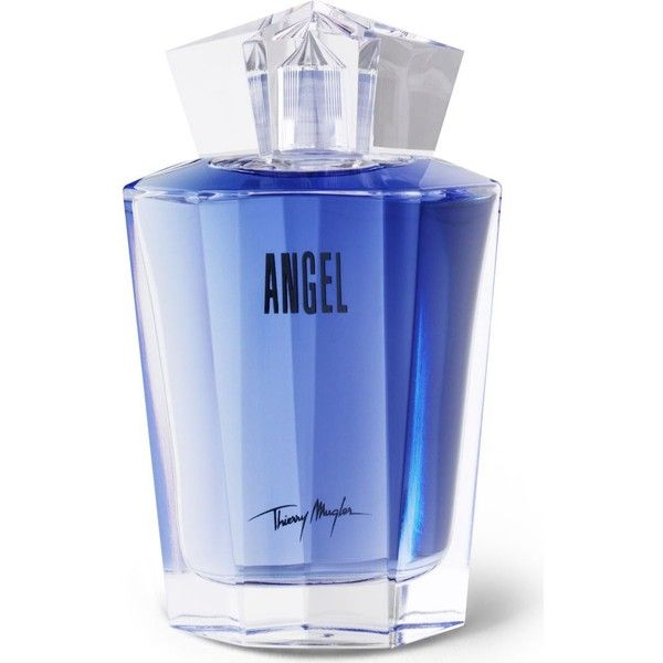 THIERRY MUGLER Angel eau de parfum refill 100ml (£85) ❤ liked on Polyvore featuring beauty products, fragrance, perfume, beauty, makeup, perfume fragrances, edp perfume, thierry mugler, thierry mugler perfume and eau de perfume
