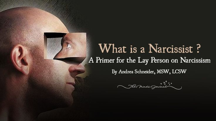 What is a Narcissist ? A Primer for the Lay Person on Narcissism - http://themindsjournal.com/what-is-a-narcissist/