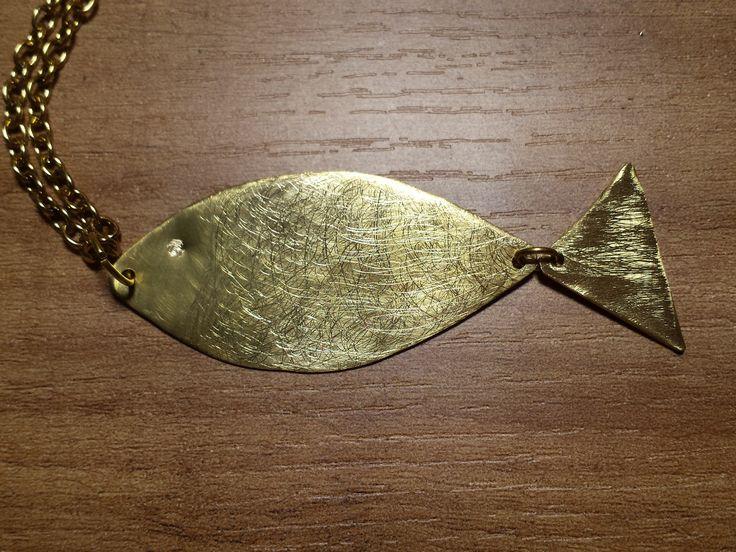 Colgante Fish/fish pendant | BARCELONA BY BETH ROMA