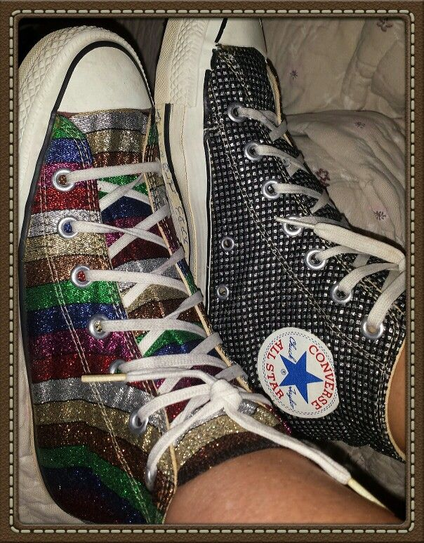 My own vintage converse. I am 43 and have had these since 7th grade. 32yrs and they still feel great!