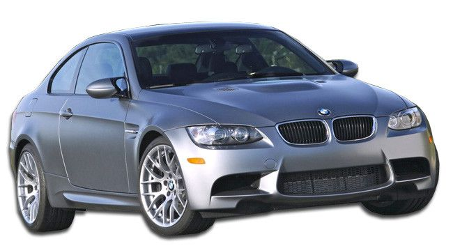 2007-2010 BMW 3 Series E92 E93 2DR Duraflex M3 Look Body Kit - 5 Piece - Includes M3 Look Front Bumper Cover (106121) M3 Look Side Skirts Rocker Panels (106899) M3 Look Rear Bumper Cover (106900) M3 L