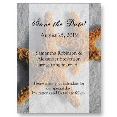 Best Save The Date Wedding Postcards Images On   Card