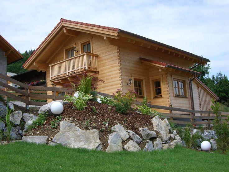 Holzblockhaus Bischofsmütze - Freizeithaus