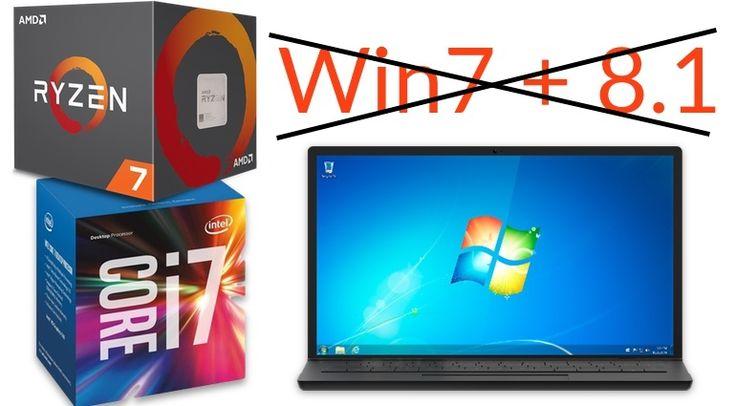 Wer noch mit Windows 7 unterwegs ist, sollte sich langsam warm anziehen: Intels und AMDs neue Prozessoren werden keine Treiber für Windows außer 10 bekommen.