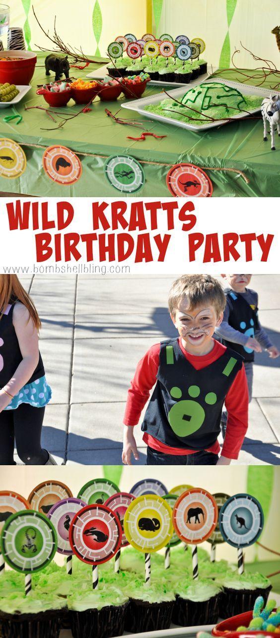 Wild Kratts Birthday Party - Love this @pbskids show!  Great ideas!