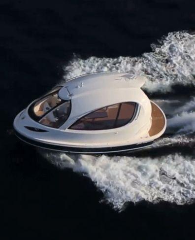 Ultimate Personal Jet Capsule Mini Yacht