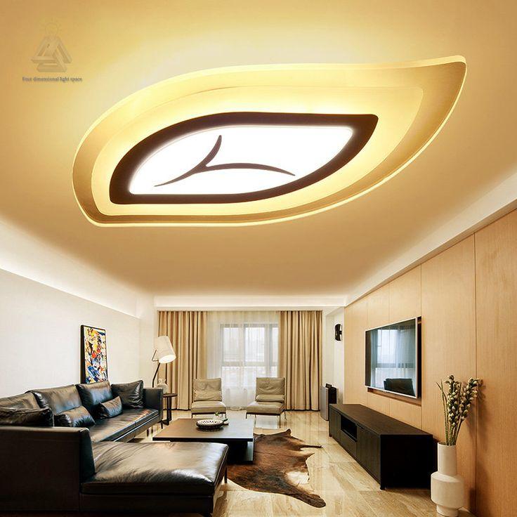 Modern Led Ceiling Lights For Living Room Acrylic Lighting Bedroom Lamp  Luces Del Techo Ceiling Light