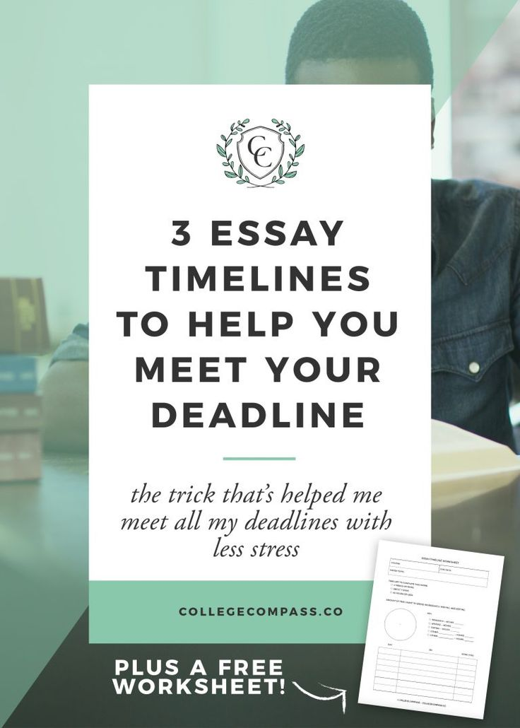 college essay deadlines According to the college board report admissions decision-making models, admission officers have expressed concern about how much assistance students receive in preparing an essay many institutions now ask applicants to sign a statement avowing that the essay submitted is their own work.