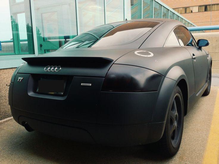 Audi TT Matte Black