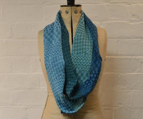 Coltrane - Extra Long Loop Snood by Frances Teckkam