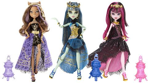 Theses 3 Monster look CLAWSOME✨ I LUUVVVVEEE CLAWDEEN'S Dress