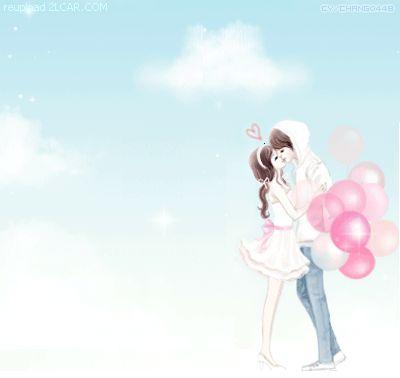 Animasi Kartun Korea Ciuman Romantis