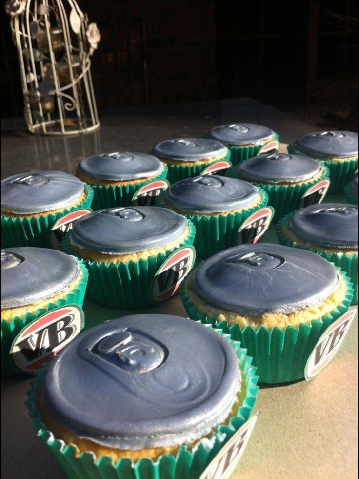 VB Beer Can Cupcakes, @shanschlotts