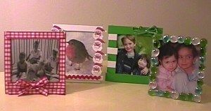 """Clever Idea.  CD Case Pic Frames.      I have so many of these I do not use.  Nice idea.  (They would go well with the """"Fall"""" letters idea, too  [see other pin])"""
