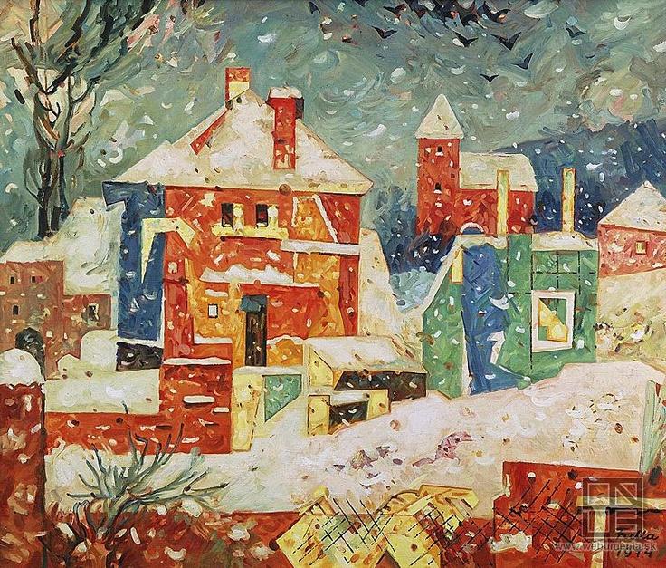 L.#Fulla - #Slovak #paint & #illustration, (February 27, 1902, Ružomberok – April 21, 1980, Bratislava)