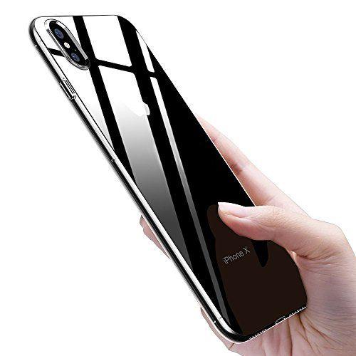 Coque iPhone X,Samione iPhone X Housse Silicone Gel TPU Bumper Case avec Absorption de Choc et Anti-Scratch Coque De Protection Etui Pour…