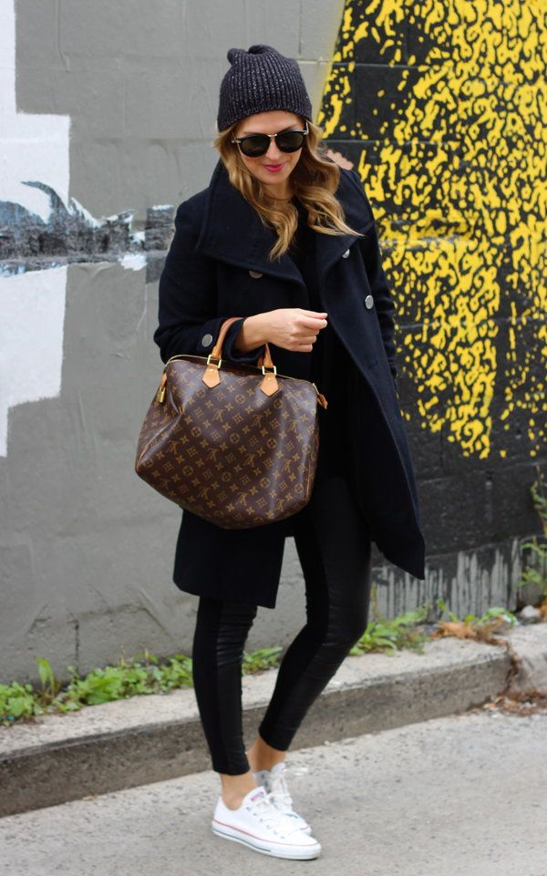 louis vuitton speedy 35 - not the monogram bag (I like the one with the squares instead)