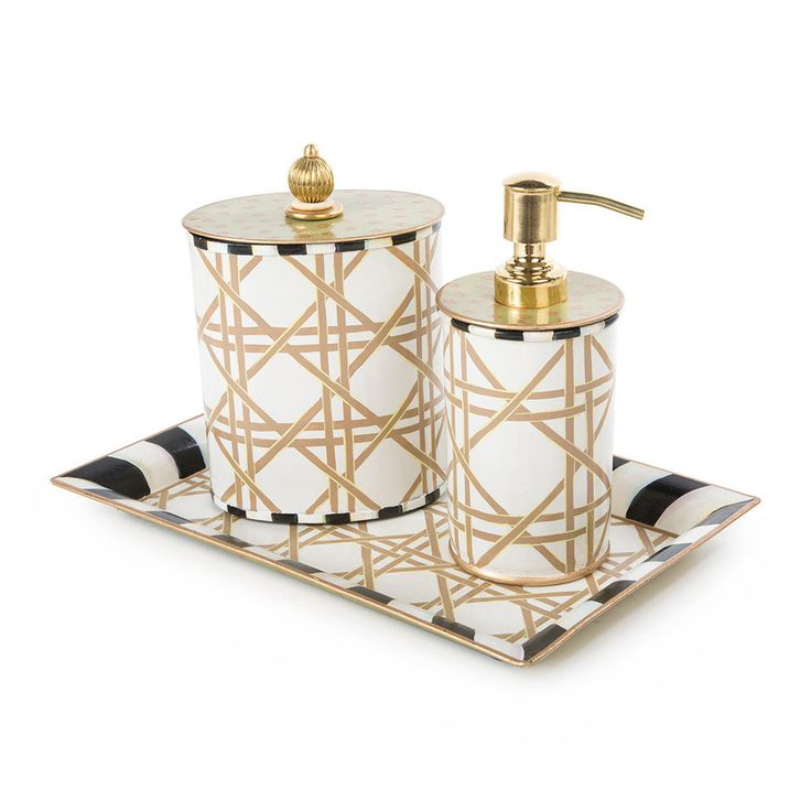 crystal bathroom accessories sets%0A Lattice Bathroom Collection