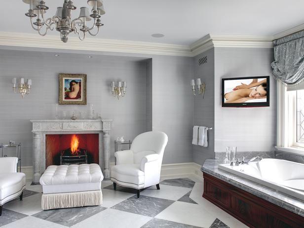 Bathrooms With Luxury Features : Bathroom Remodeling : HGTV Remodels