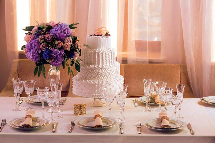 Торт для свадьбы в стиле: Классический