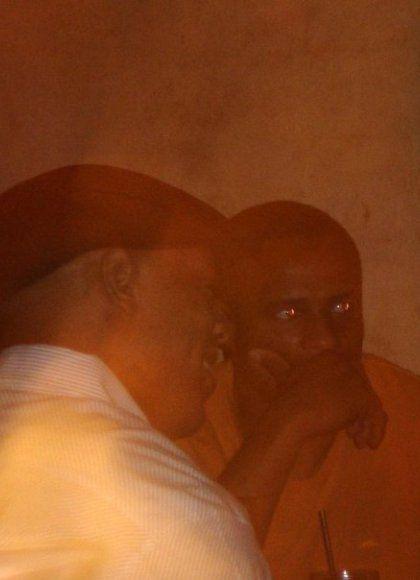 черные парни глаза