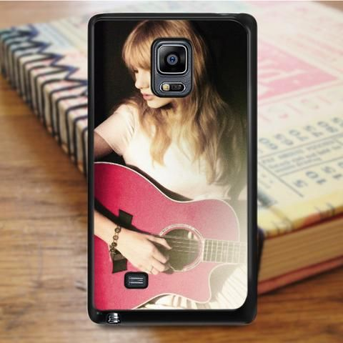 Taylor Swift Guitar Red Samsung Galaxy Note Edge Case
