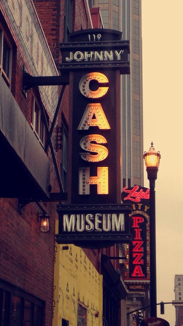 Johnny Cash Museum in Nashville, TN