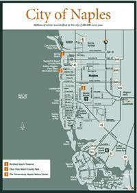 Naples Florida Attractions - Naples Florida Map | When staying at: Edgewater Beach Hotel