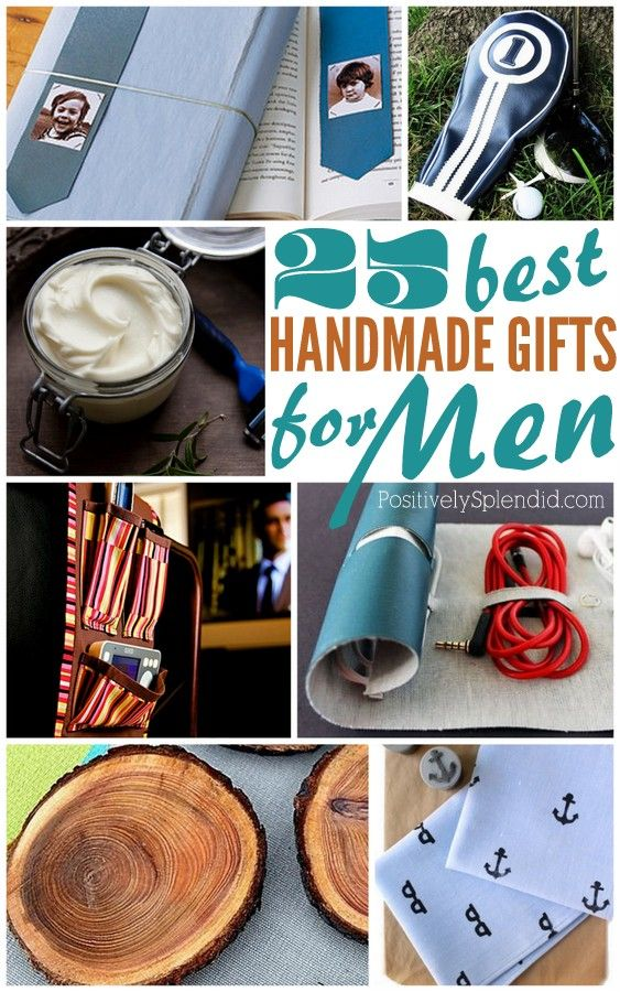 So many great ideas in this list of handmade gifts for men! Just in time for Father's Day.: 25 Handmade, Father'S Day, Fathers Day, Diy Gifts Ideas For Men, Diy Gifts Ideas For Guys, Handmade Gifts Men, Handmade Gifts For Dads, Great Ideas, Gifts Ideas For Men Diy