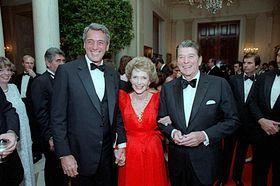 Rock Hudson - Nancy & Ronald Regan