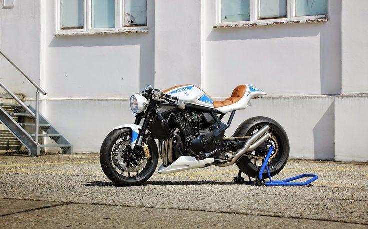 "Racing Cafè: Suzuki GSF 1250 Bandit ""Fat Mile"" by Daniel Händler & A.Muth"