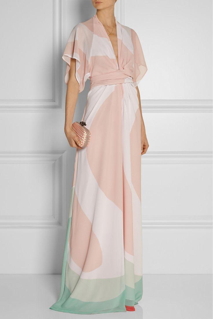Issa|Pollyanna printed chiffon maxi dress|NET-A-PORTER.COM