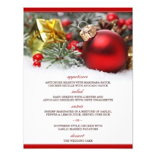 244 best Christmas Wedding Invitations images on Pinterest - christmas card templates word