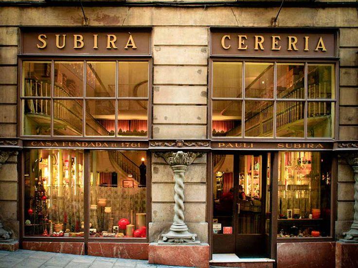 Secrets of Barcelona Travel Guide - Cerería Subirà - Unique Shops Barcelona - Barcelona Shops
