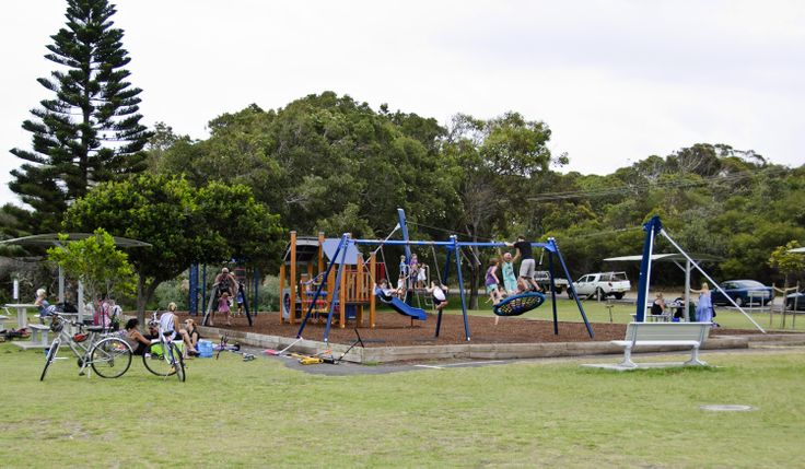 This is a great facility for kids next to the beach with lots of amenities nearby, including toilets, parking, restaurant and cafe and a pleasant coastal walk. #fingalbay #portstephens