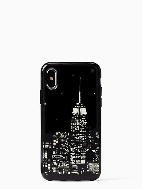 7fab7657e0 Kate Spade Glow In The Dark Skyline Iphone X & Xs Case   Products ...